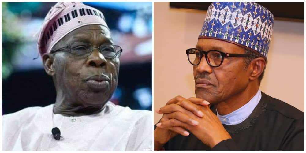 Obasanjo attacks President Buhari, says Nigeria is becoming a failed state under him