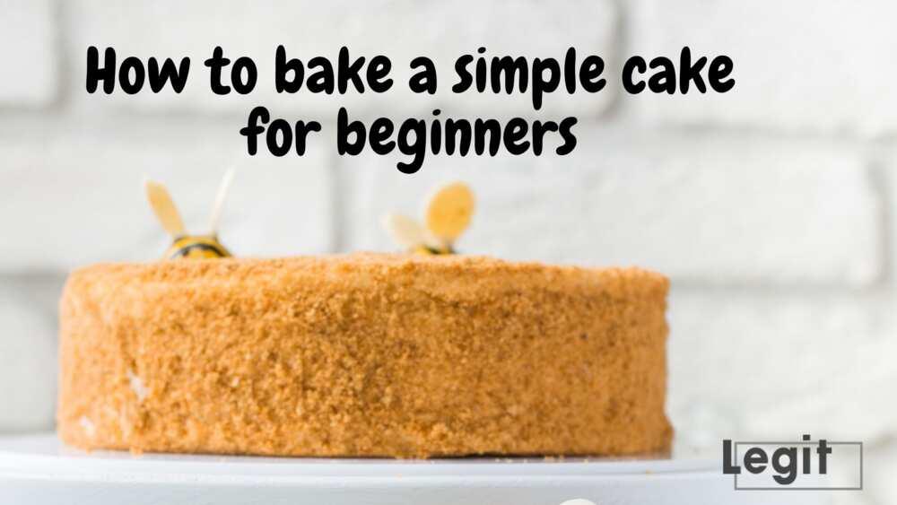 how to bake cake