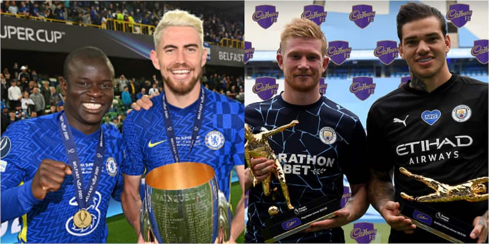 Chelsea, Man City stars dominate Champions League nominees for positional awards