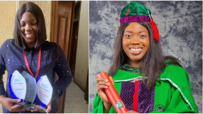 21-year-old lady emerges best student of Covenant University after graduating with perfect CGPA of 5.0