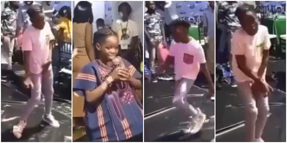 Big 10: Reactions as Wizkid's first son Tife prays then parties hard at birthday party with friends
