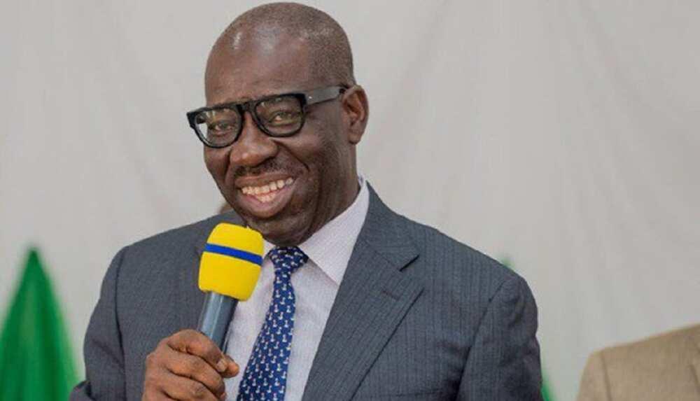 Edo election: Governor Godwin Obaseki says he won't become godfather