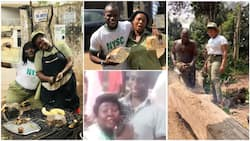 4 times young Nigerians finished NYSC, went back to family members who paid their school fees to thank them