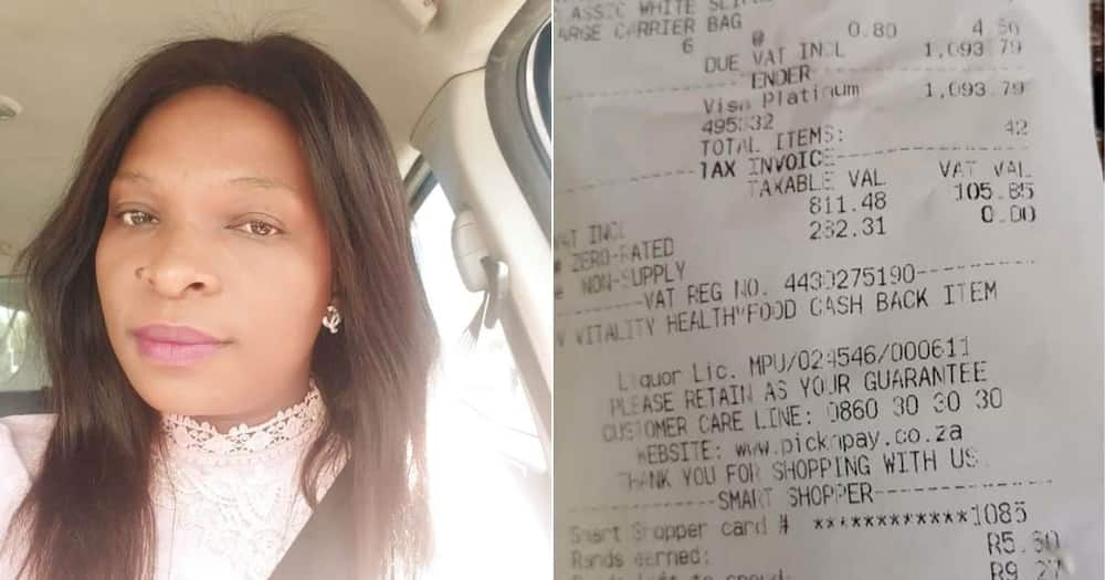 Reactions as stranger pays N29k for woman's groceries at mall