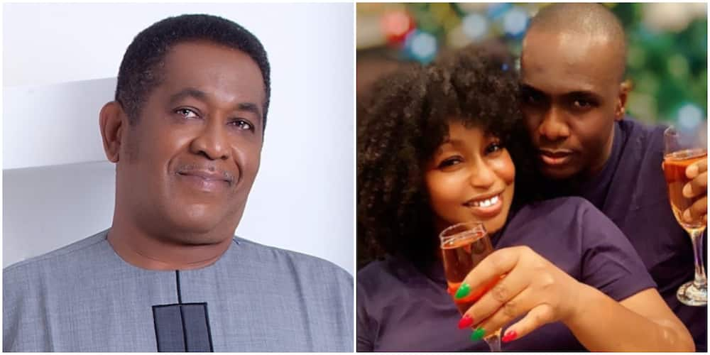 Actor Patrick Doyle wish Rita Dominic and her new man happiness (photo)