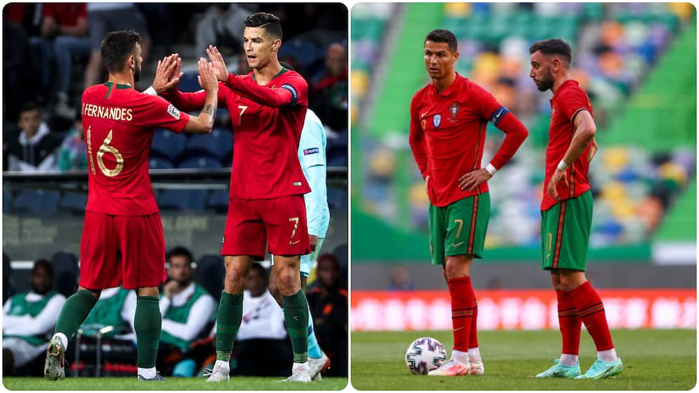 Man United star begs Ronaldo to leave free-kicks for him over penalties