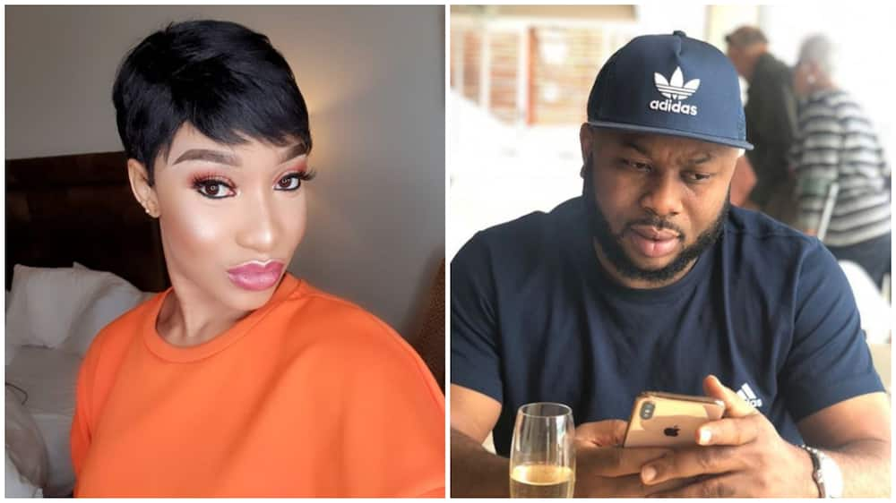 In new video Tonto Dikeh reveals former husband is a Yahoo boy, not Obasanjo's son