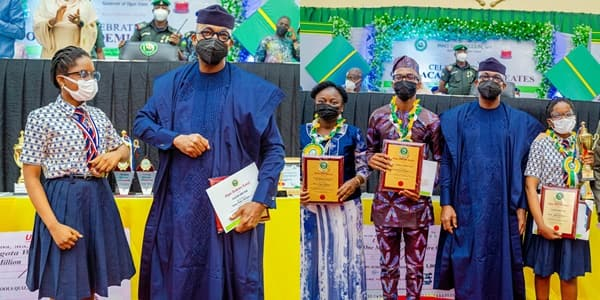 Governor Abiodun Rewards 15-Year-Old Student who Defeated UK, US pupils to Emerge Global Maths Champion