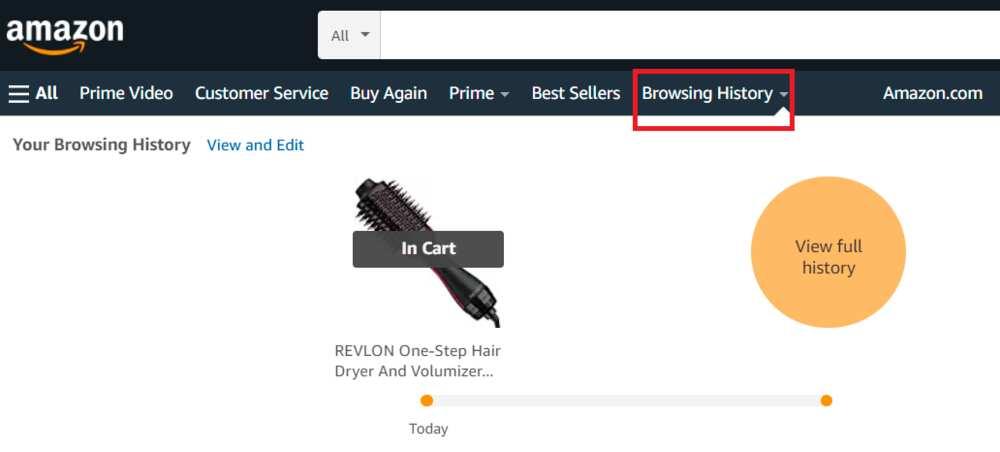 How to hide orders on Amazon