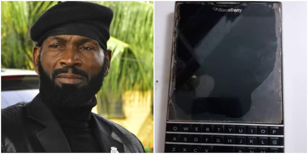 Sylvester Madu reveals what he did to buy a Blackberry phone