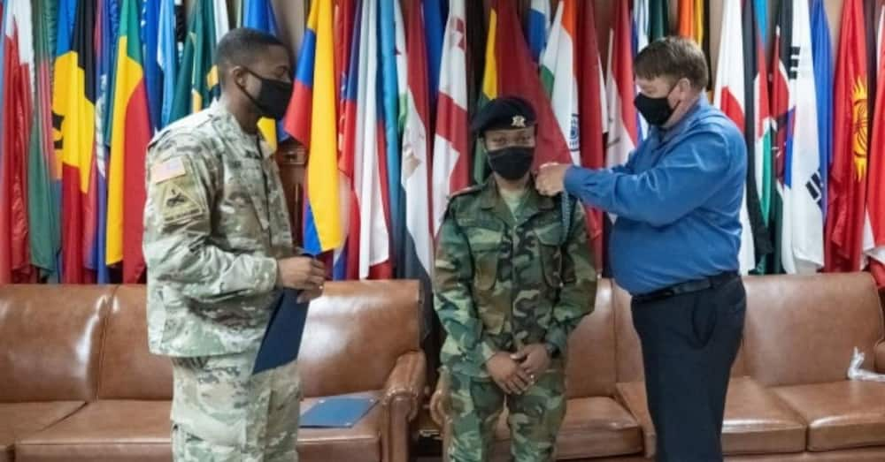Lt Agatha Kpamina: Young Ghanaian female soldier becomes 1st African to finish top course in Georgia