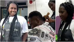 I used to work at a strip club but now I've trained many people: 23-year-old female barber declares in video