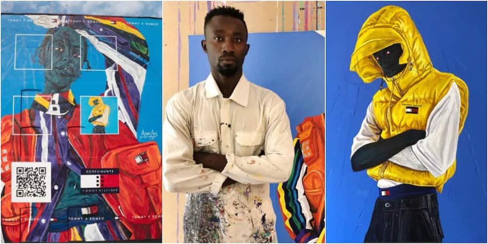 Annan Affotey: Ghanaian muralist lands major deal with Tommy Hilfiger for a new mural project