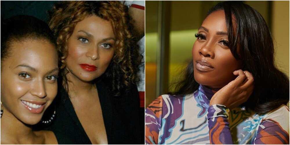 Beyonce, mother and Tiwa Savage