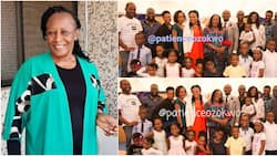 Patience Ozokwo shows off all her children and grandkids in beautiful photos, says they surprised her with a visit