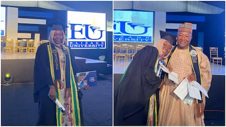Nigerian lady bags first class with 4.86 CGPA, collects several awards, she thanks her parents