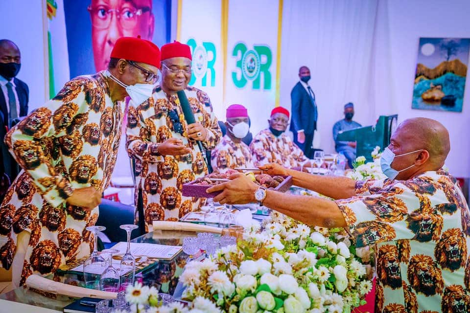 Buhari visited Imo state
