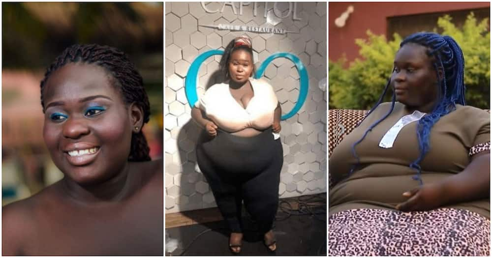 Plus-sized reality show star reveals she did not travel to Dubai because of her size