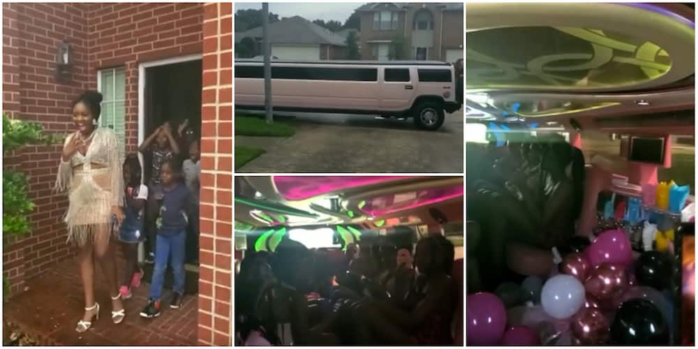 Toyin Lawani Surprises Daughter With Rented Hummer Limousine for Her Sweet 16 Birthday Party