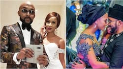 I have never needed anyone in my life the way that I need you - Adesua celebrates Banky W on his birthday