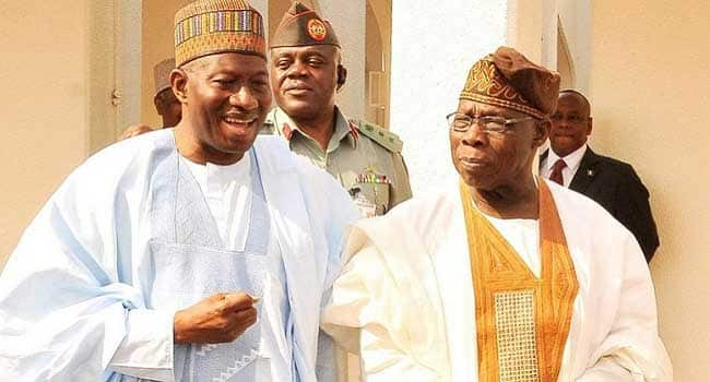 If you don't know, this is how Jonathan became vice president in 2007 - Obasanjo