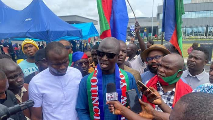 BREAKING: After Bayelsa protest, Ijaw youths shut NDDC headquarters in Rivers