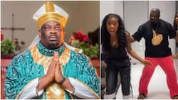 Who danced better? Don Jazzy asks fans to choose as he vibes with members of Liquorose's group