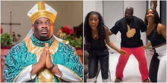 Don Jazzy and GGB girls