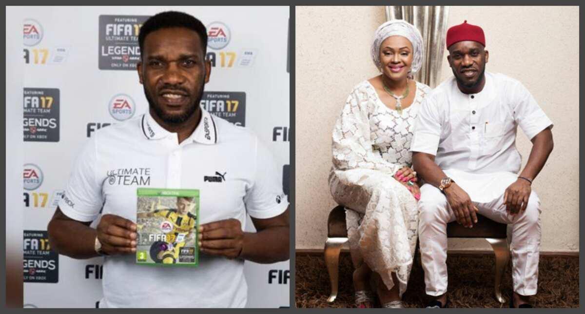 Jay Jay Okocha's wife