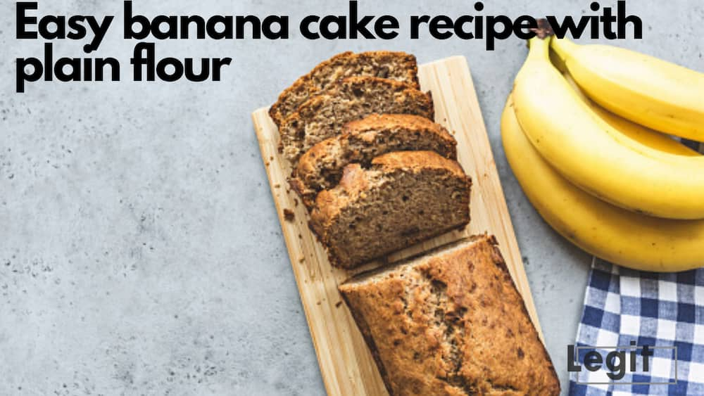 Easy banana cake with plain flour: A simple recipe to try out