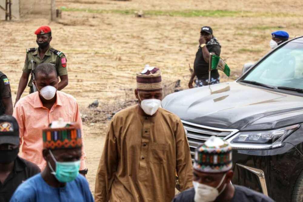 Yanzu yanzu: Mayaƙan Boko Haram sun sake kaiwa tawagar Gwamna Zulum hari ranar Lahadi