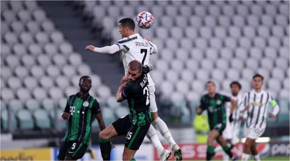Juventus vs Ferencvaros: Cristiano Ronaldo Equals Messi's Record