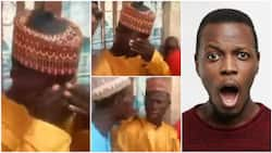 Nigerian groom cries uncontrobally on his wedding day in video, many wonder why