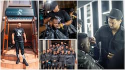 Man who resigned from his juicy job to become full-time barber succeeds, now has over 400 workers, 46 branches