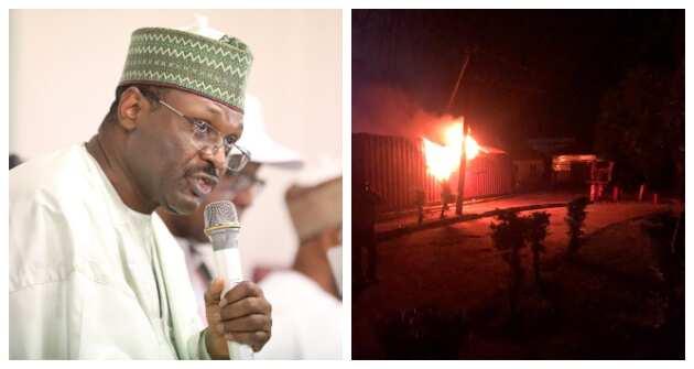Ondo guber: We'll conduct poll despite massive fire outbreak, says INEC