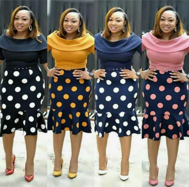 a1986d5da4 Latest office skirt designs you will adore ▷ Legit.ng