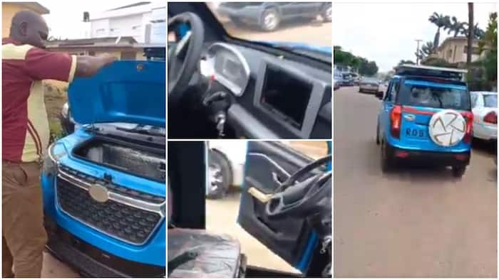 Video of electric car that also uses solar in Ibadan generates reactions on social media