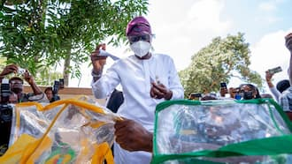 Breaking: Sanwo-Olu makes urgent appeal to Lagosians after casting vote