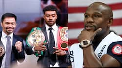 Manny Paquiao 'attacks' Mayweather ahead of championship bout with undefeated American