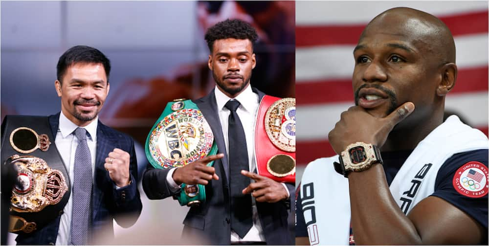 Manny Paquiao throws dig at Mayweather ahead of championship bout with undefeated American