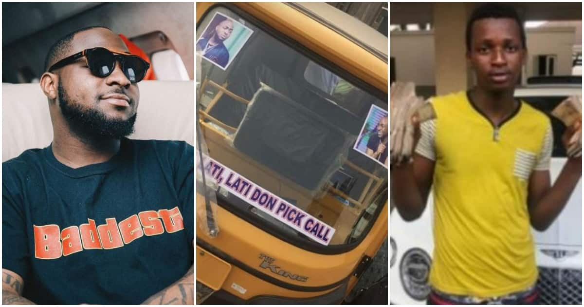 Wise investment - Davido says as boy he gave N1m used it to