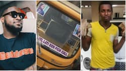 Davido sings praises of boy he gave N1million for buying keke Napep, says wise investment (photo)