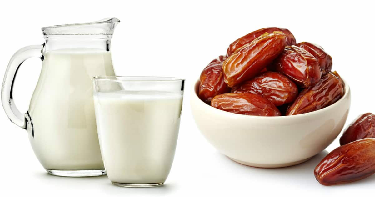 Benefits of dates with milk