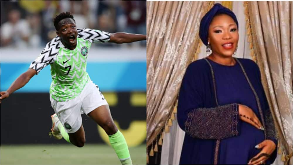 Ahmed Musa, wife welcome bouncing baby boy in style