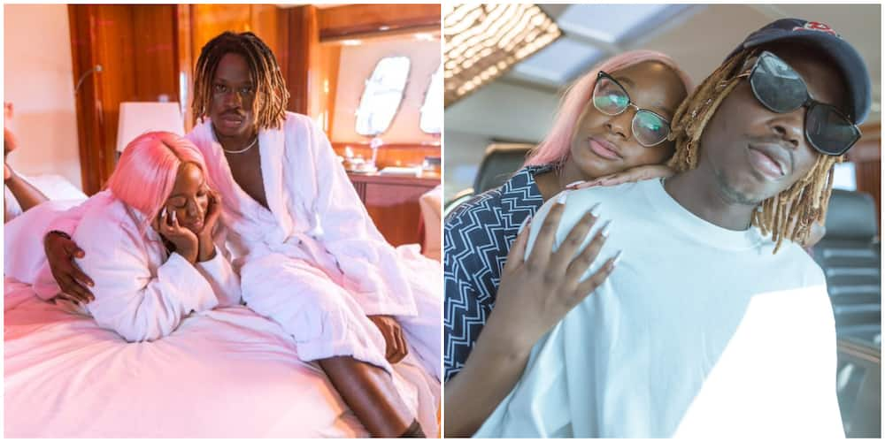 DJ Cuppy shares loved up photos with Fireboy, causes massive stir