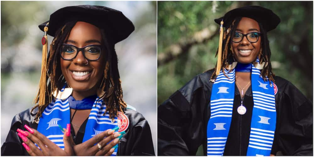 Woman Celebrates Being the 1st Person in Her Mum's Family to Bag PhD, Shares Adorable Photos