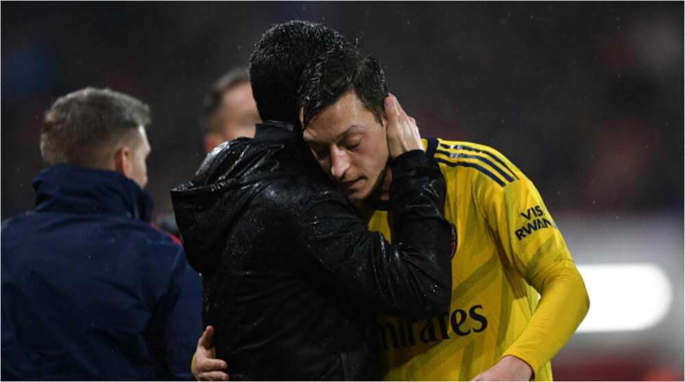 Mesut Ozil: Arsenal manager Arteta set to leave German star out of Premier League squad