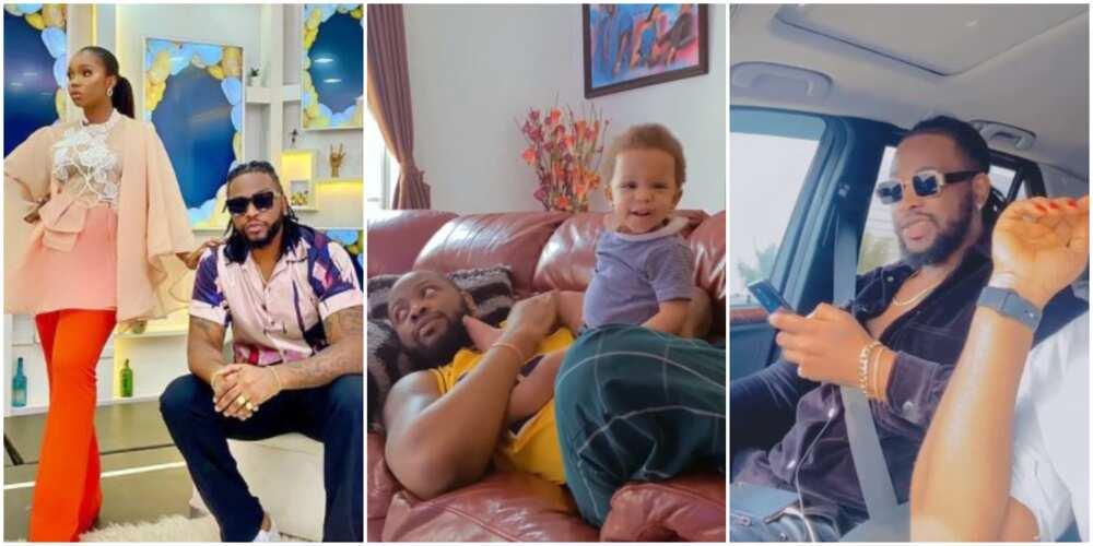 My Heartbeat: BBNaija's Bambam Celebrates Hubby Teddy a on Birthday With Emotional Video, Fans Gush