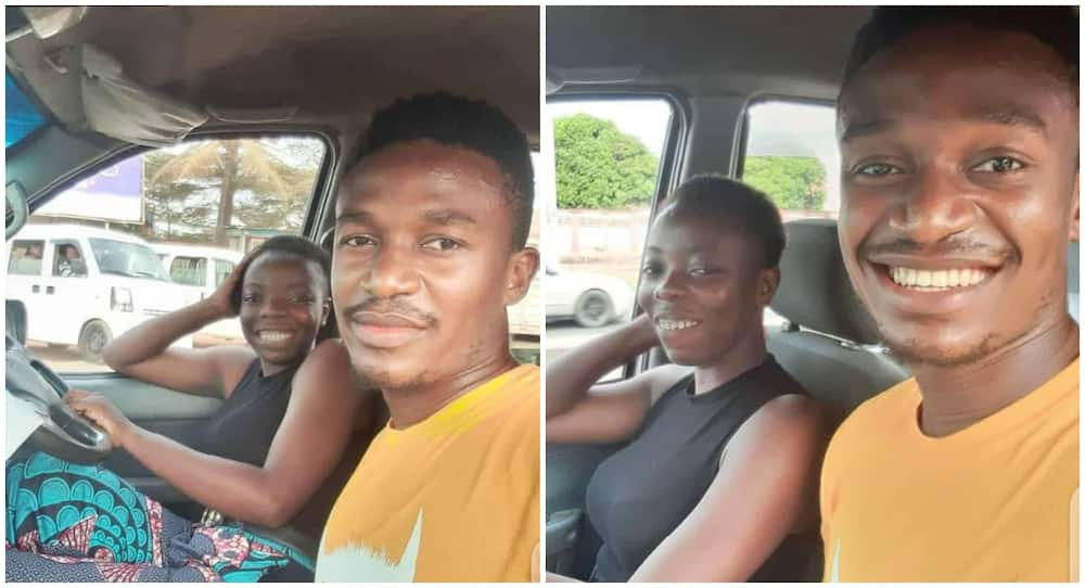 Nigerian lady who works as a bus driver says passengers decline entering her bus because she is a lady