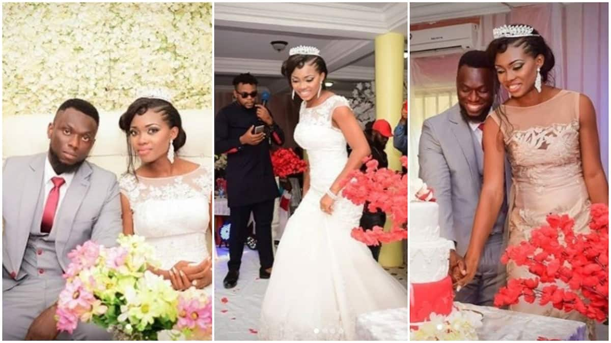 Image result for Nigerian dance instructor weds her man in Lagos after 9 years of friendship